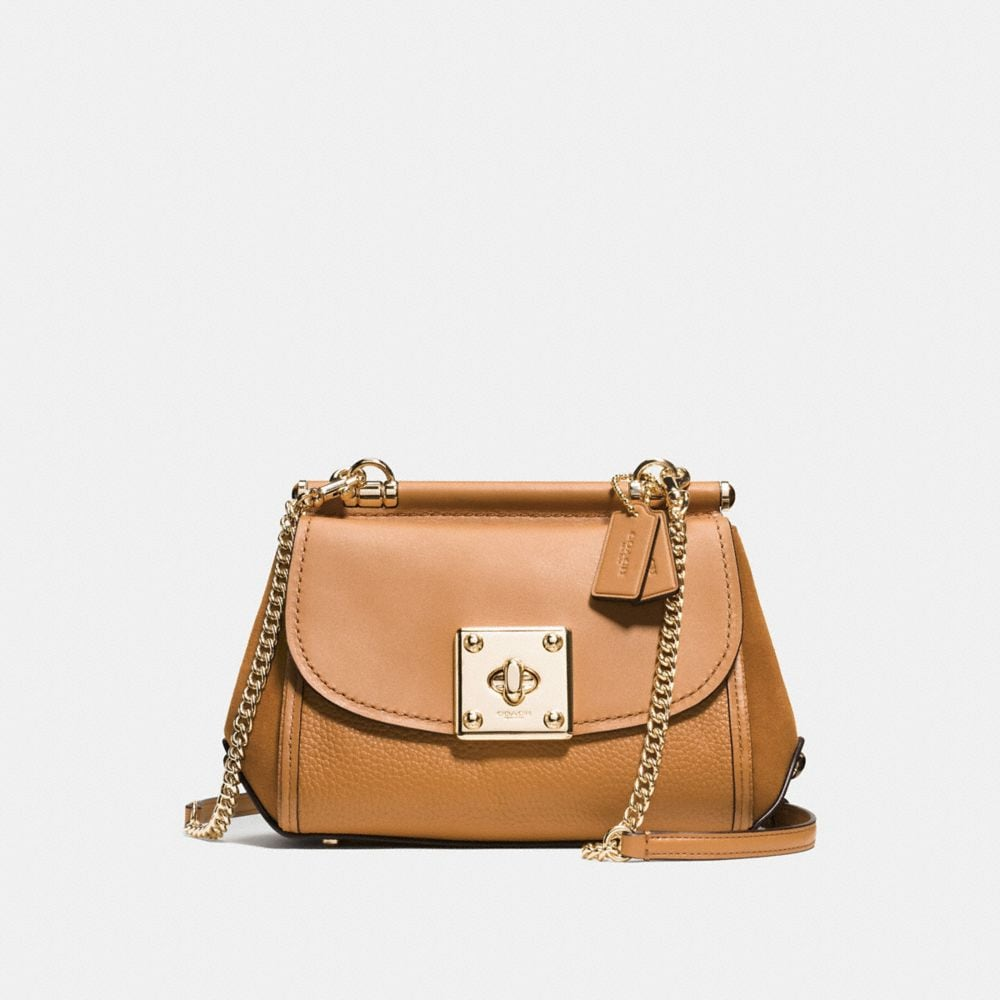 DRIFTER CROSSBODY IN MIXED LEATHERS