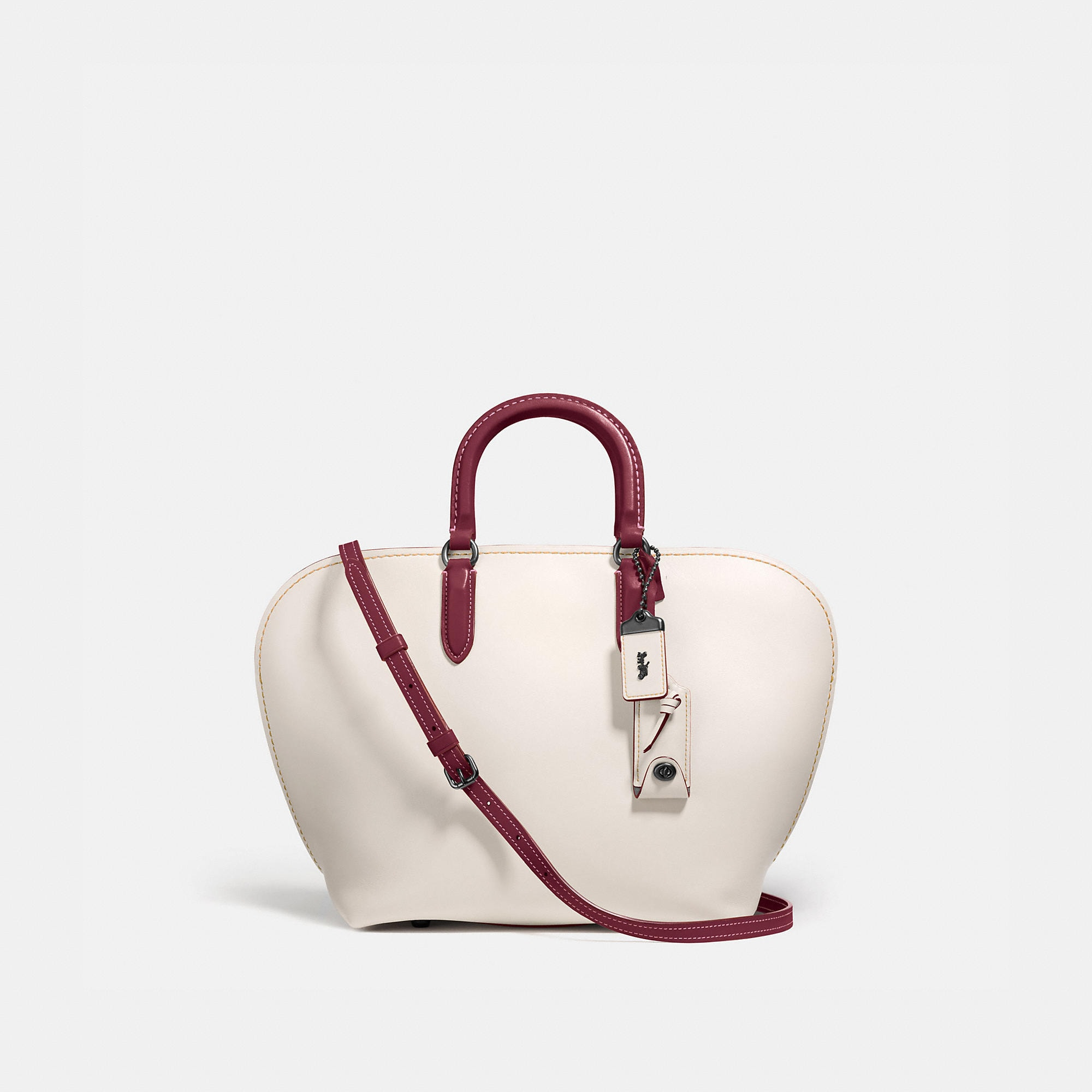 Coach Dakotah Satchel In Glovetanned Leather