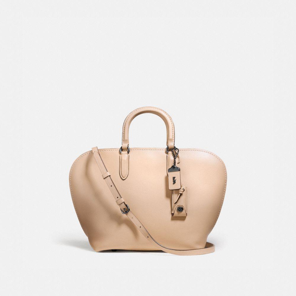 dakotah satchel in glovetanned leather