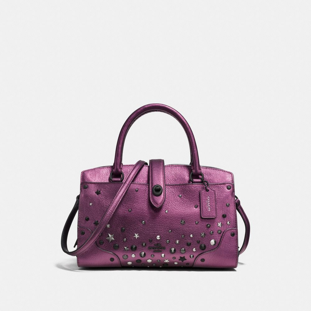 MERCER SATCHEL 24 WITH STAR RIVETS
