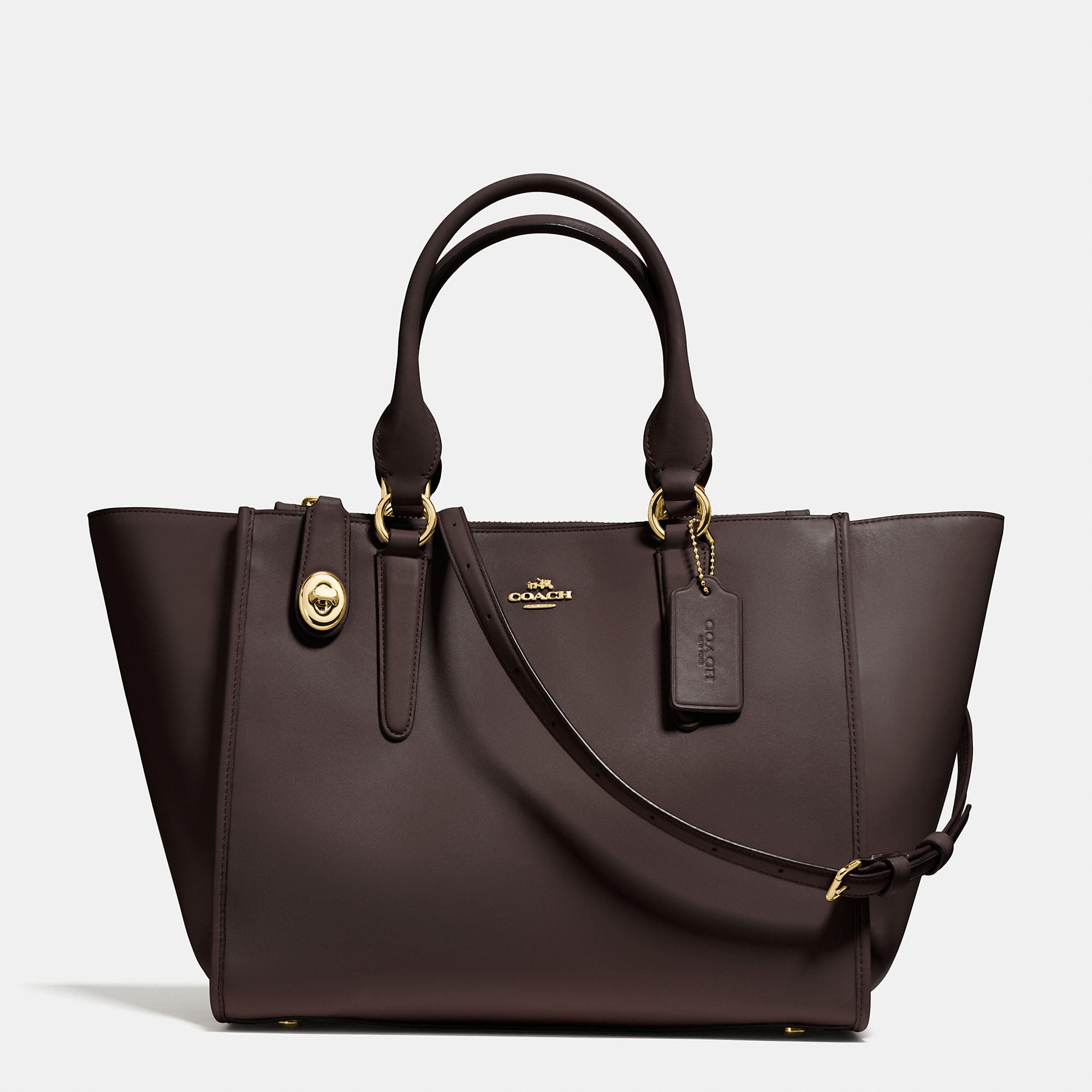 Coach Crosby Carryall in Refined Calf Leather