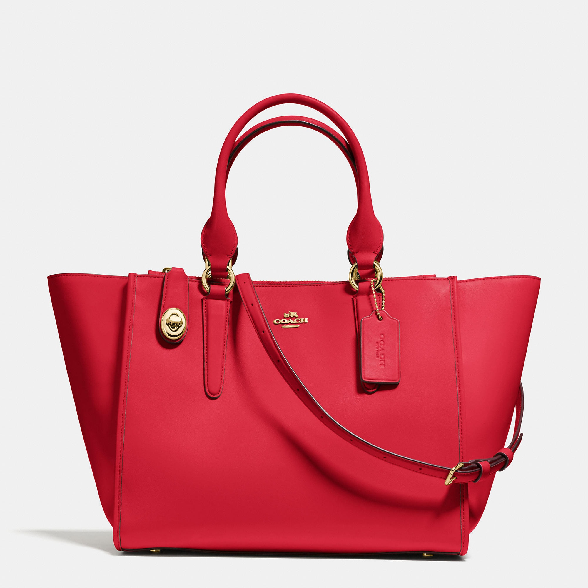 Coach Crosby Carryall in Smooth Leather