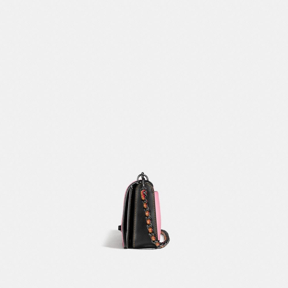 Dinky Crossbody in Colorblock Leather - Alternate View A1
