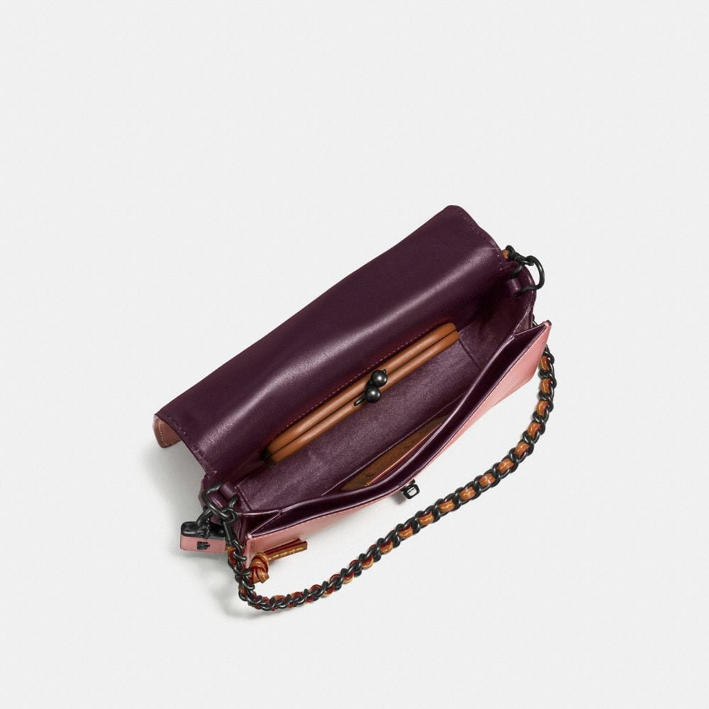 Dinky Crossbody in Colorblock Leather - Alternate View A2