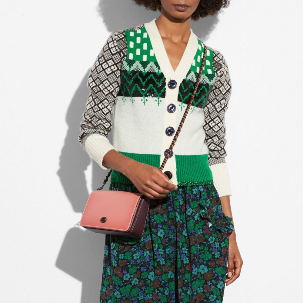 Dinky Crossbody in Colorblock Leather - Alternate View A3