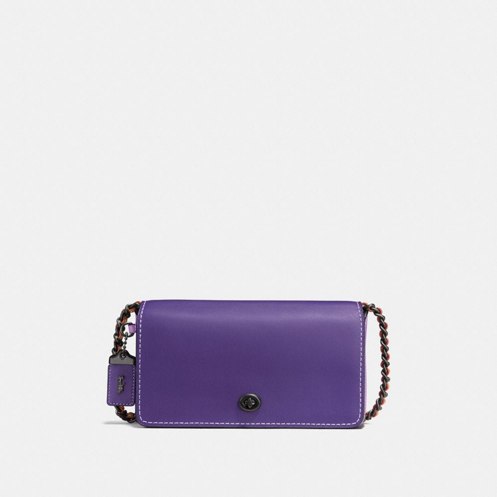 DINKY CROSSBODY IN COLORBLOCK LEATHER