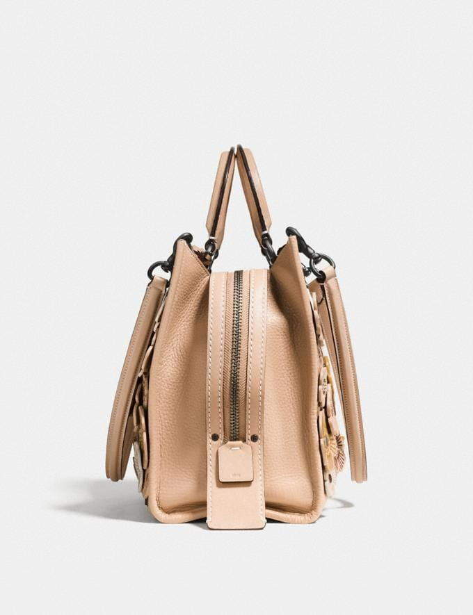 Coach Rogue With Tea Rose Beechwood/Black Copper Women Collection Rogue Alternate View 1