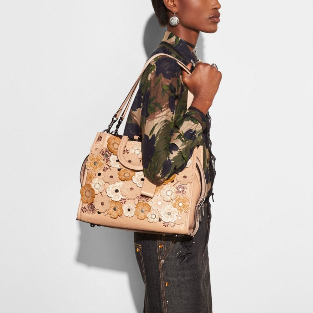 Coach Rogue With Tea Rose Alternate View 4