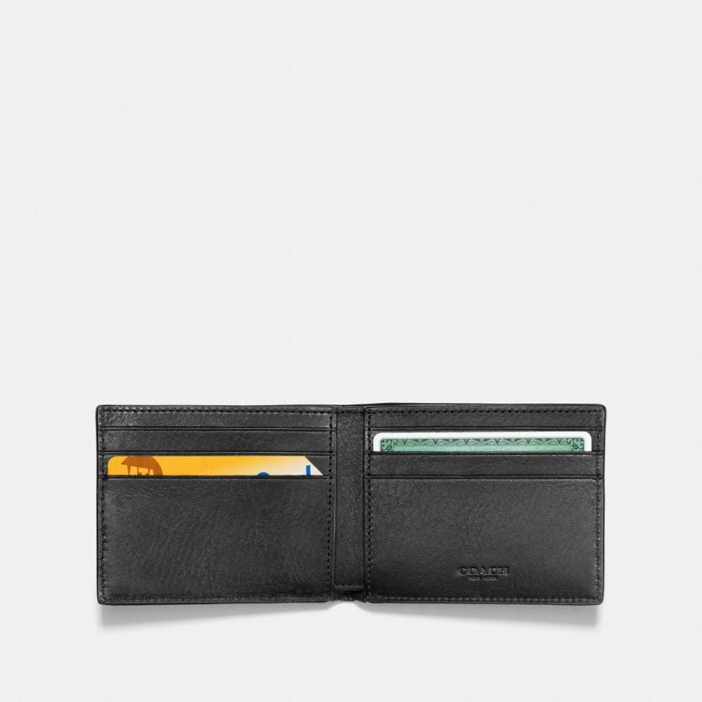 Coach Rip and Repair Slim Billfold Wallet Alternate View 1