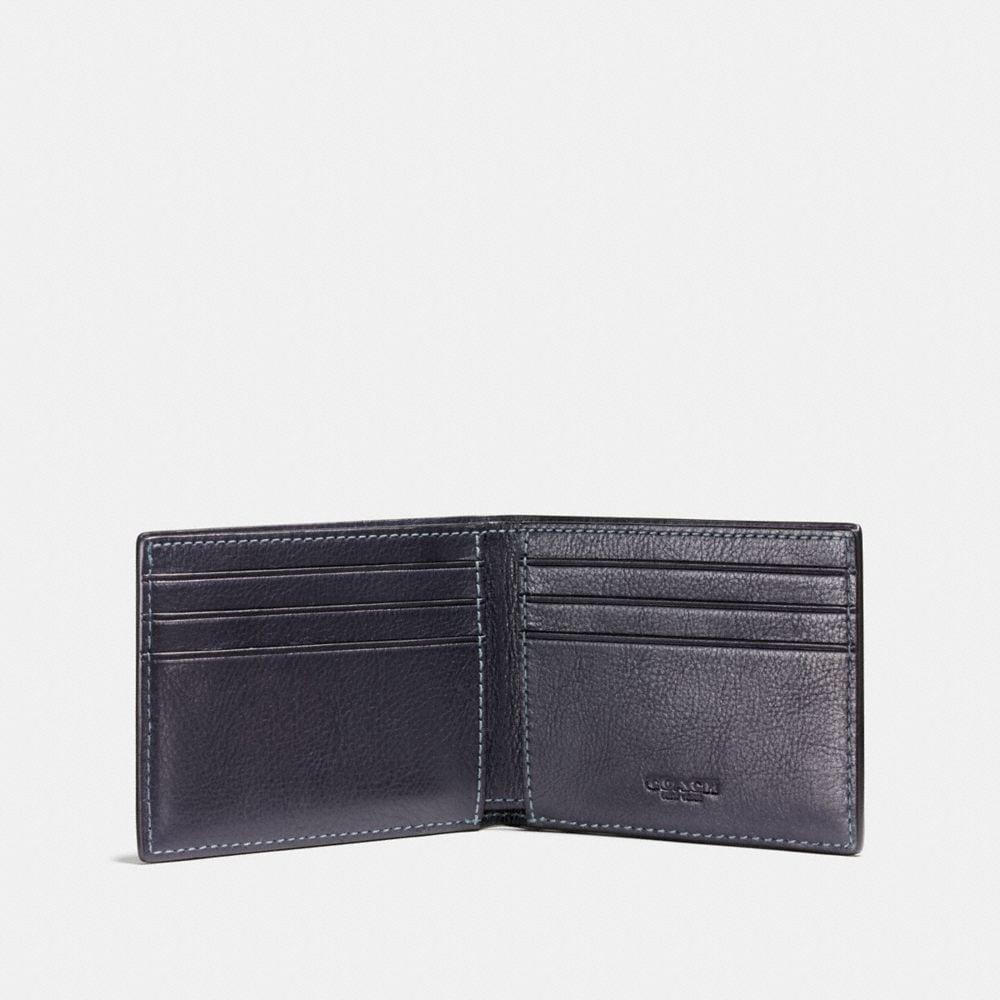 Coach Rip and Repair Slim Billfold Wallet Alternate View 1