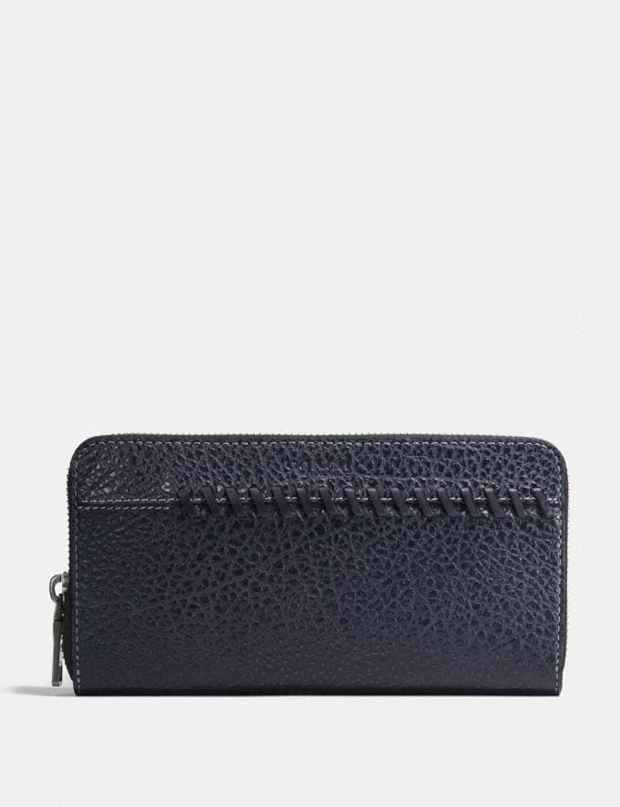 Coach Rip and Repair Accordion Wallet Midnight