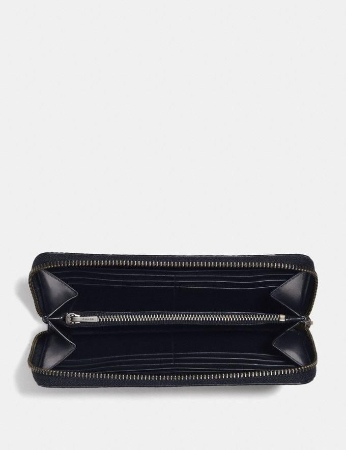 Coach Rip and Repair Accordion Wallet Midnight  Alternate View 1