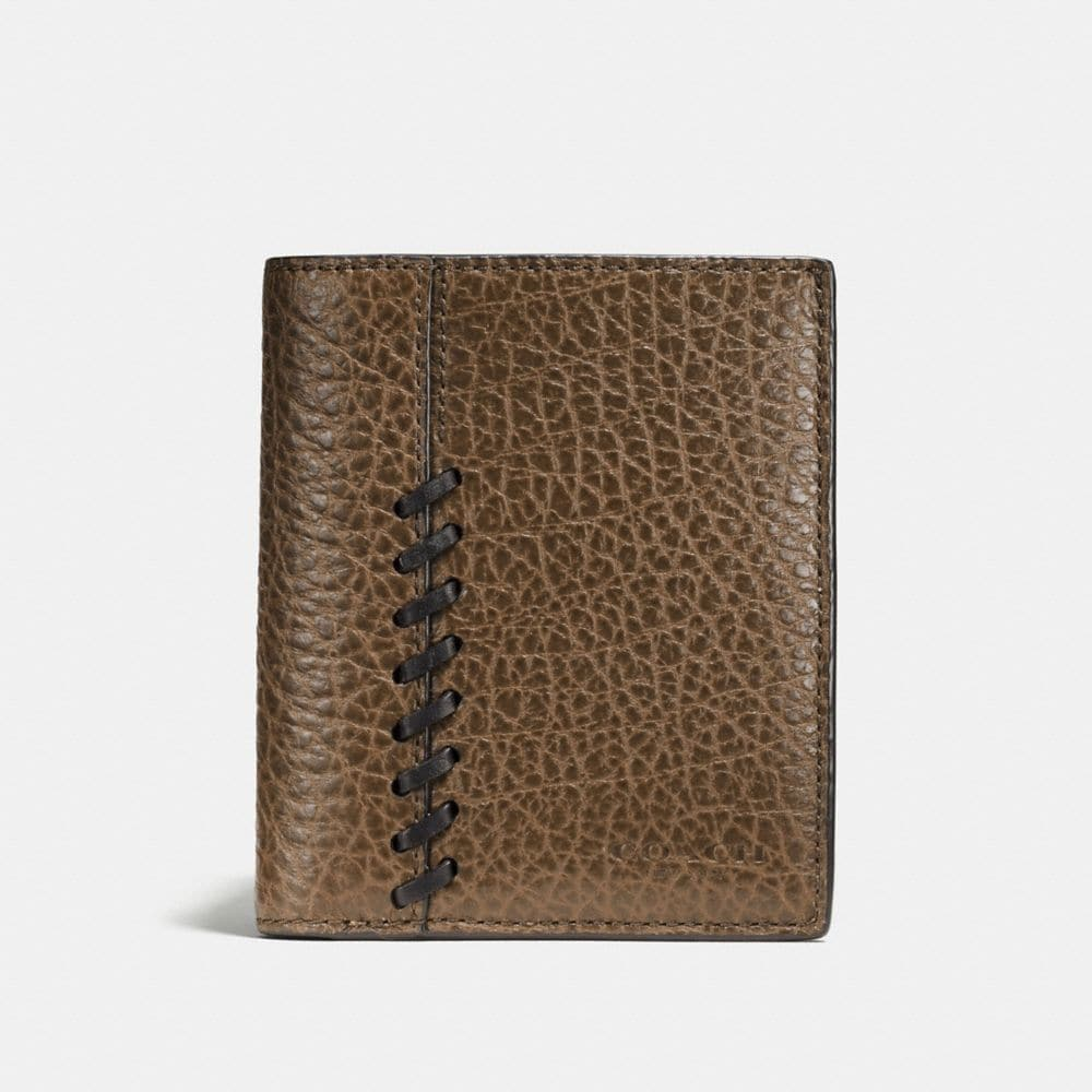 RIP AND REPAIR SLIM COIN WALLET IN BUFFALO EMBOSSED LEATHER