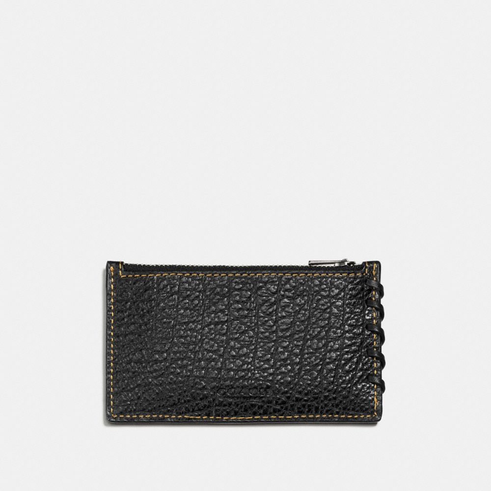 Coach Rip and Repair Zip Card Case