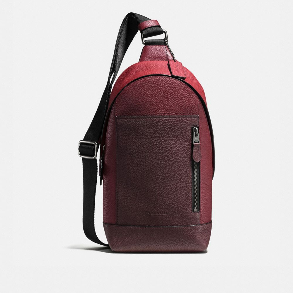 MANHATTAN PACK IN PEBBLE LEATHER