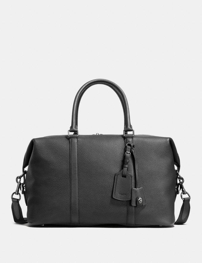 Coach Explorer Bag Black/Black Antique Nickel
