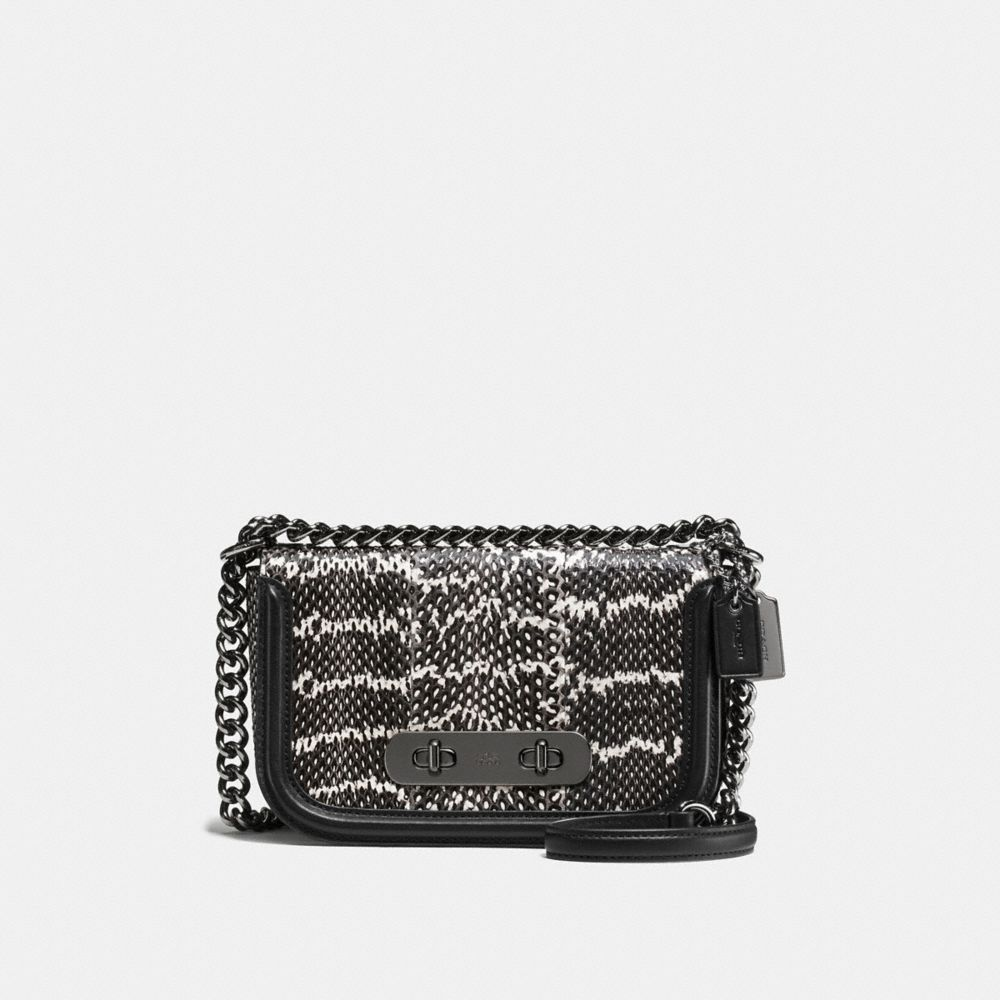 COACH SWAGGER SHOULDER BAG 20 IN SNAKE