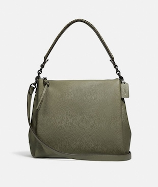 SHAY SHOULDER BAG WITH WHIPSTITCH DETAIL