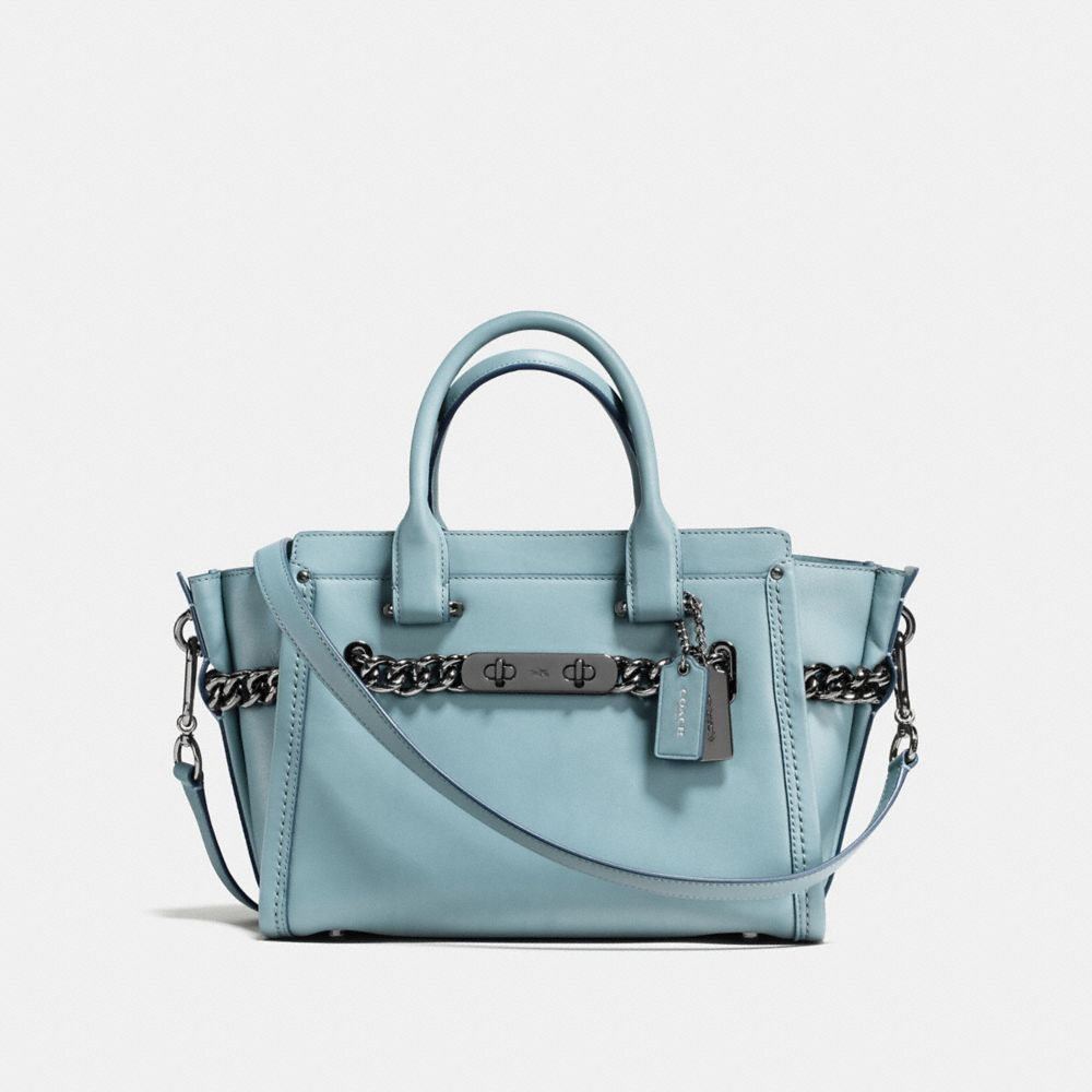 COACH SWAGGER ID 27 IN GLOVETANNED LEATHER