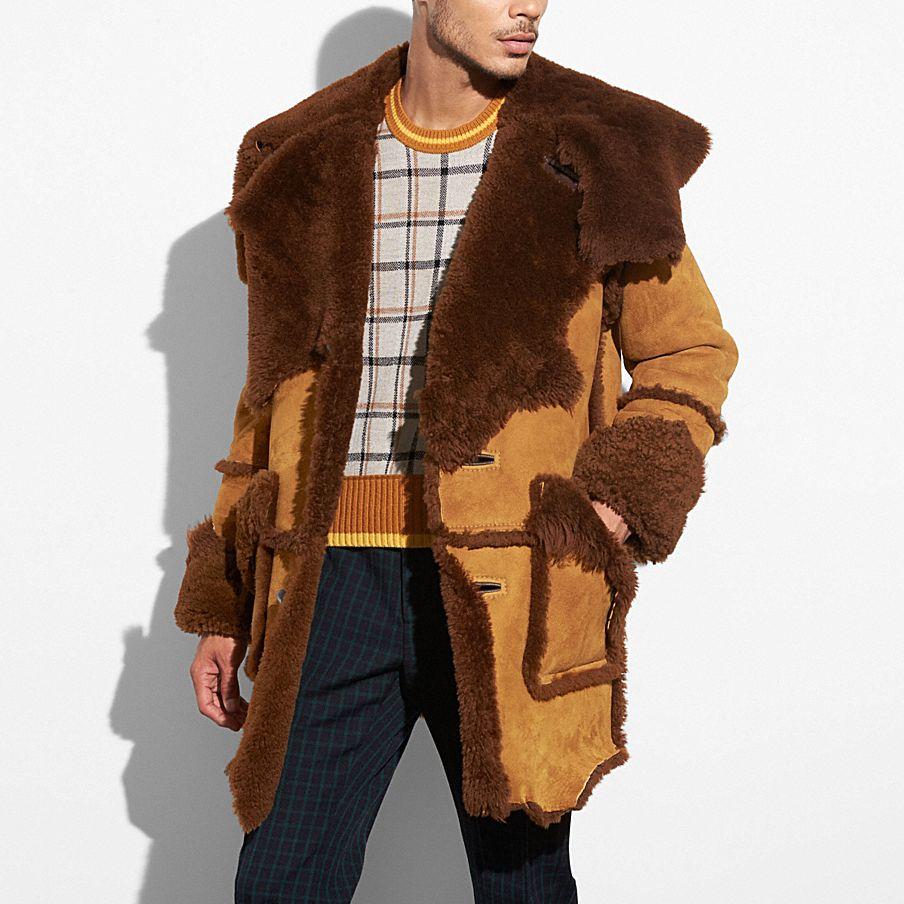 COACH: Shearling Coat