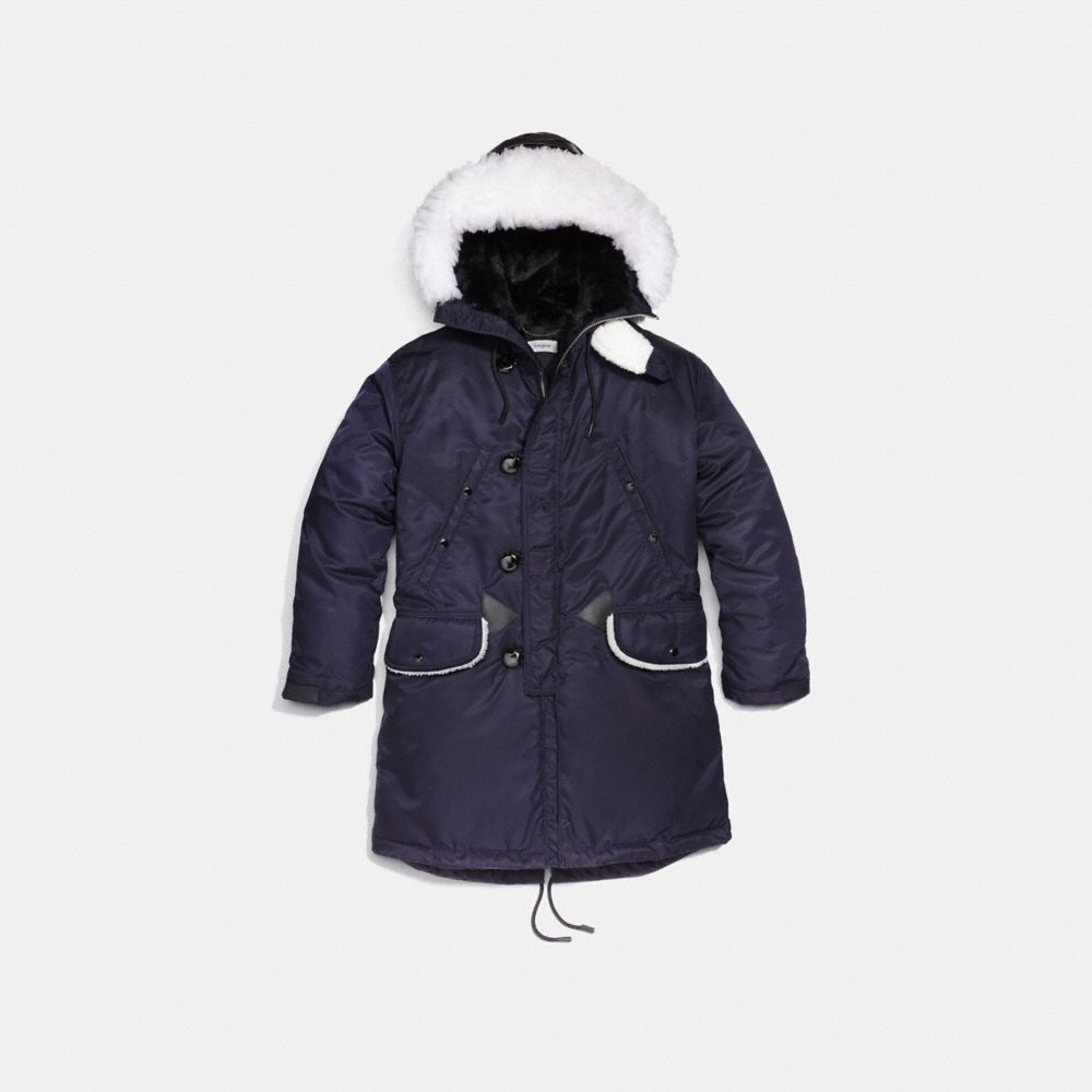 Coach Patch Parka Alternate View 1