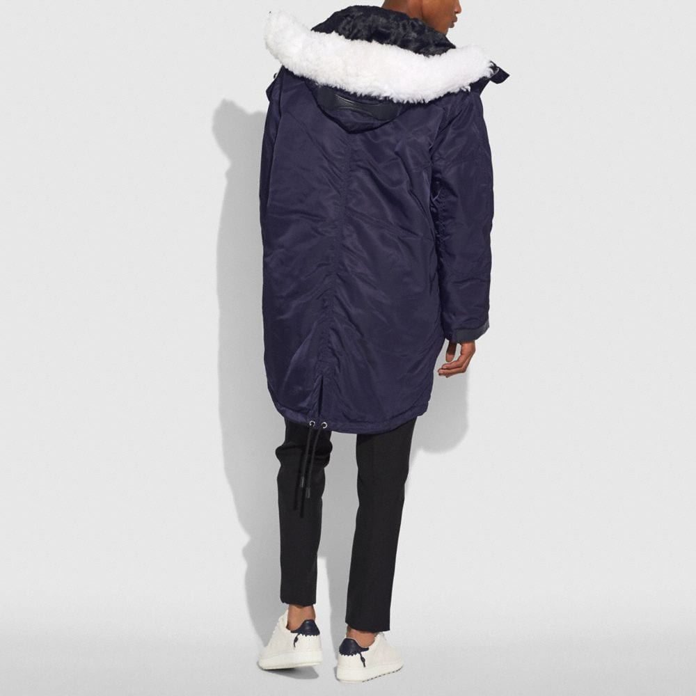 Coach Patch Parka Alternate View 2