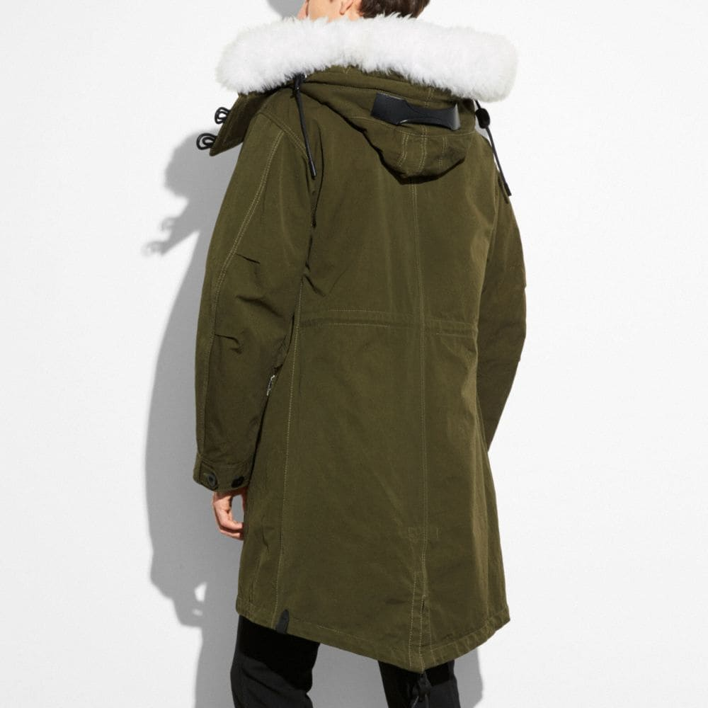 Coach Parka Alternate View 2