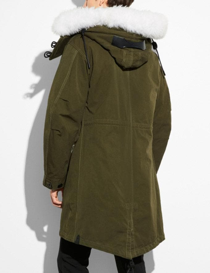 Coach Parka Military  Alternate View 2