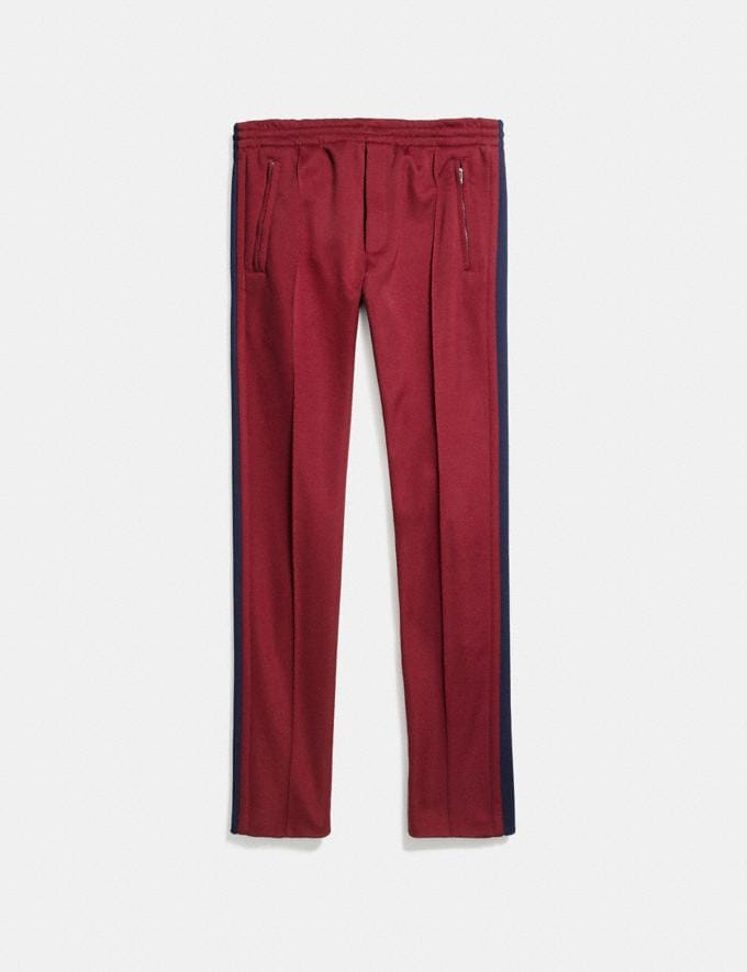 Coach Track Pants Wine Hombre Confección Partes superiores e inferiores Vistas alternativas 1