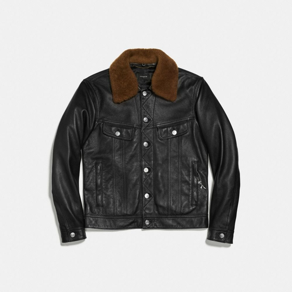Coach Trucker Jacket