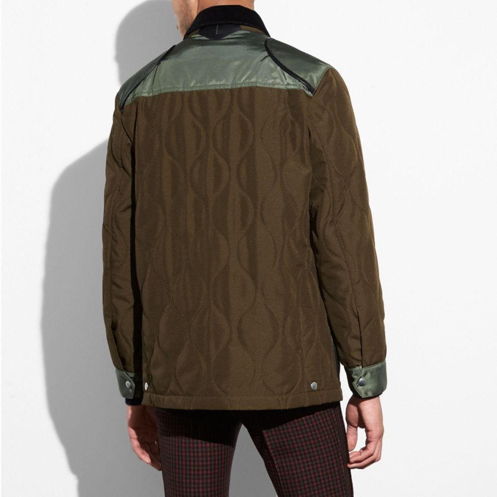 Coach Quilted Anorak Alternate View 2