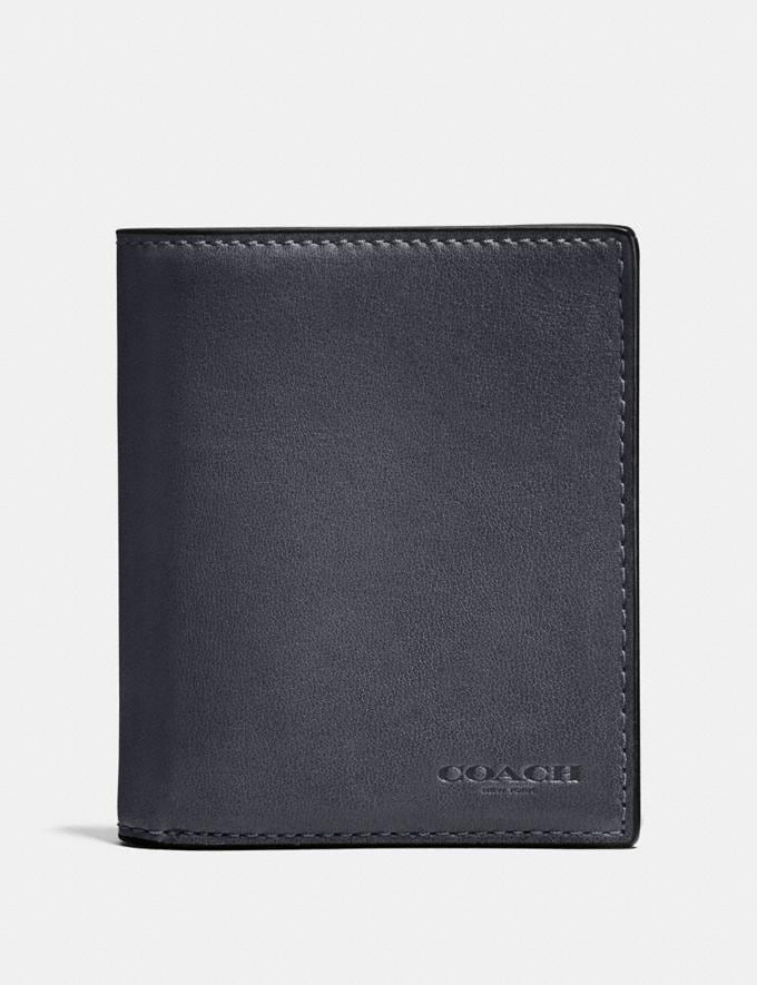 Coach Slim Coin Wallet Graphite SALE Sale Edits New to Sale New to Sale