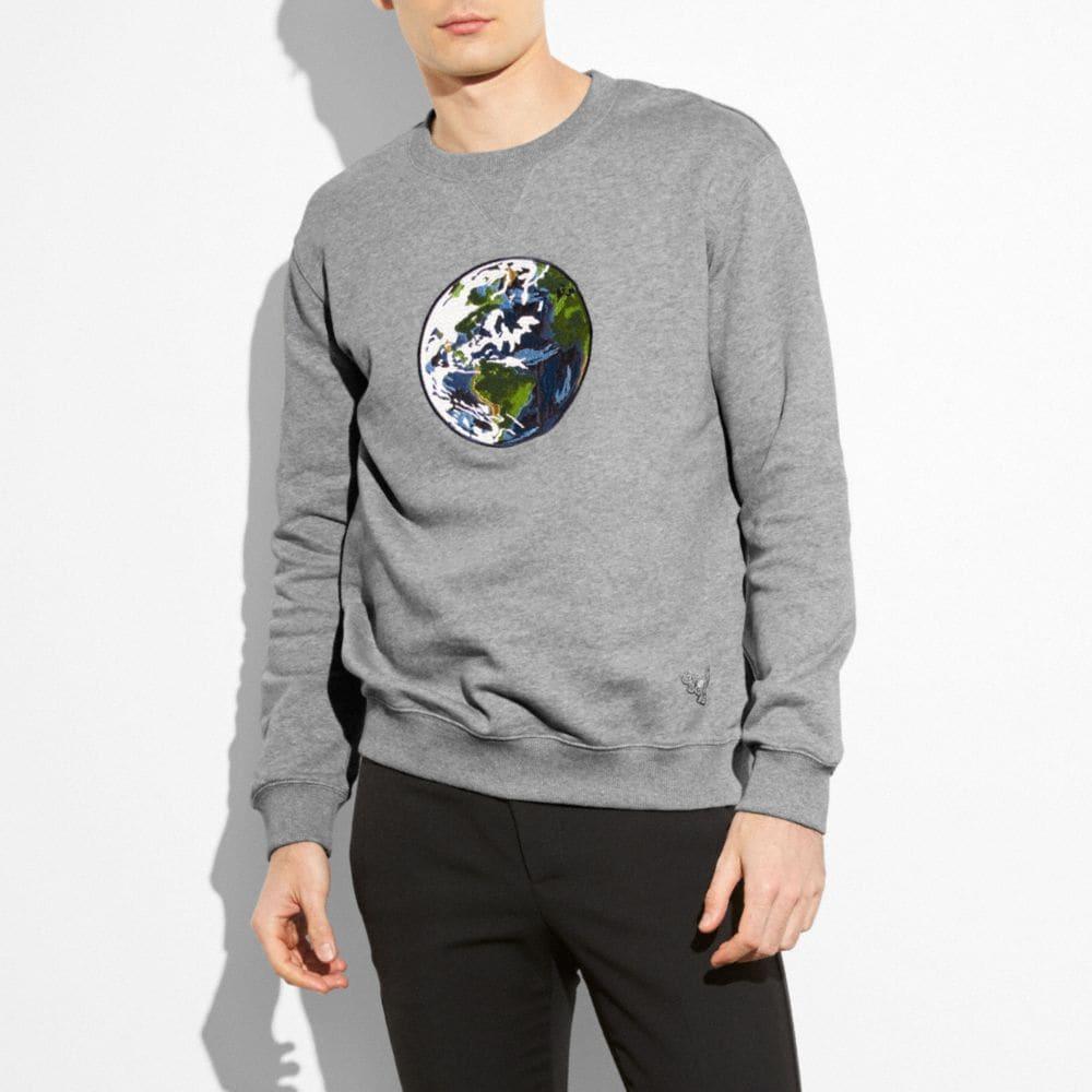 Unisex Planet Earth Sweatshirt