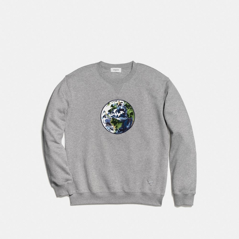 Coach Planet Sweatshirt Alternate View 1