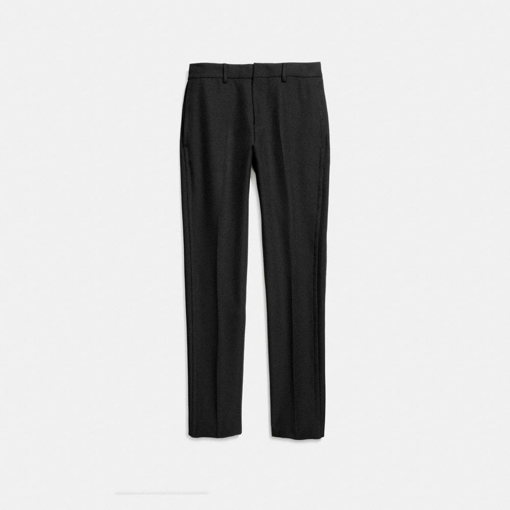 Straight Leg Trousers - Alternate View A1