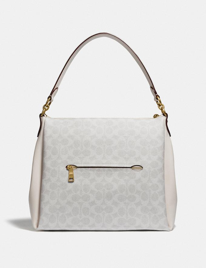 Coach Shay Shoulder Bag in Signature Canvas B4/Chalk Chalk Women Bags Shoulder Bags Alternate View 2