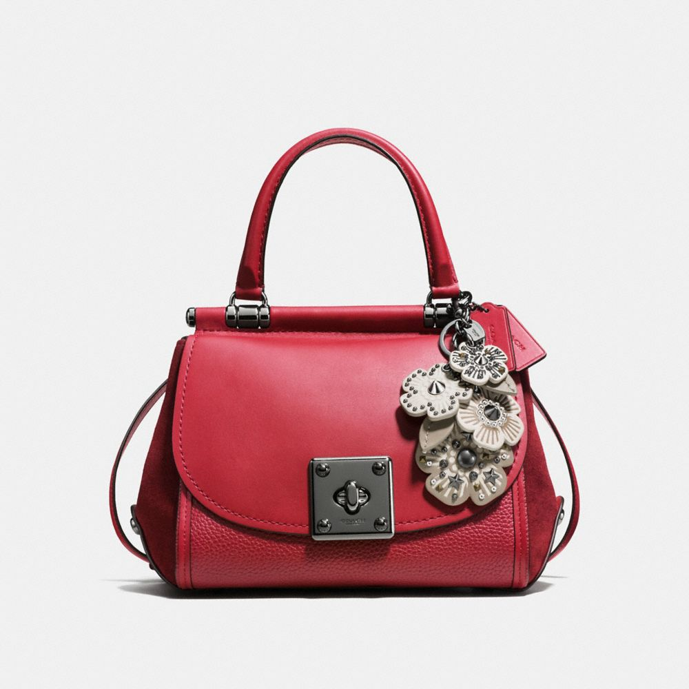 Coach Willow Floral Mix Bag Charm Alternate View 2
