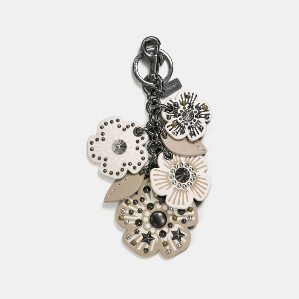 Coach Willow Floral Mix Bag Charm