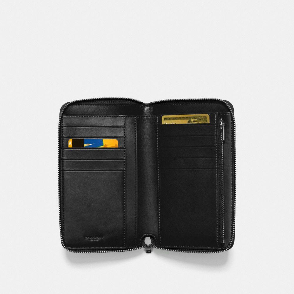 Coach Medium Zip Around Wallet Alternate View 1