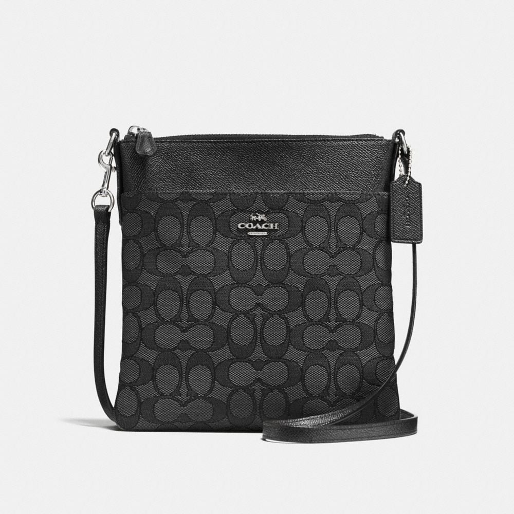 Coach Messenger Crossbody in Signature Jacquard