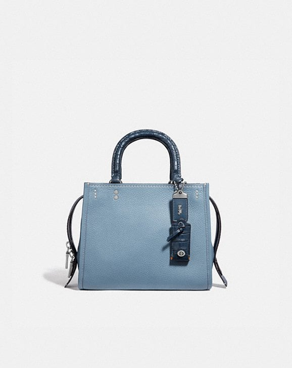 Coach ROGUE 25 WITH CROCODILE DETAIL