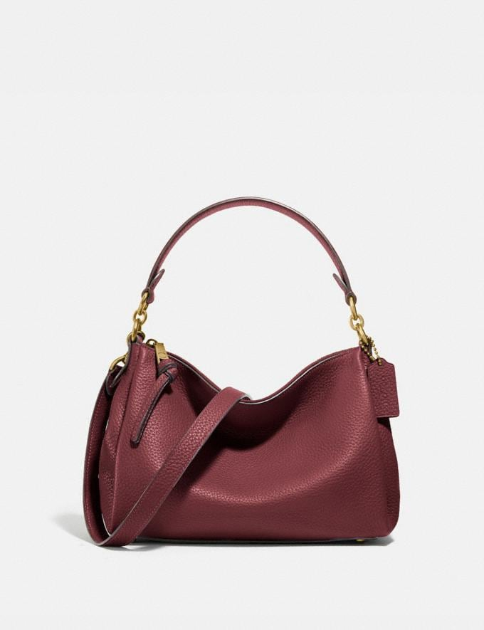 Coach Shay Crossbody Brass/Wine PRIVATE SALE For Her Bags