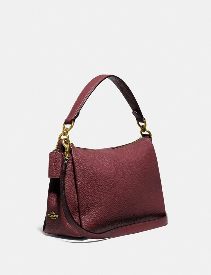 Coach Shay Crossbody Brass/Wine PRIVATE SALE For Her Bags Alternate View 1