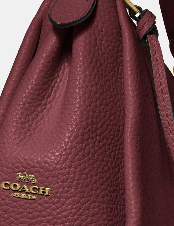 Coach Shay Crossbody Brass/Wine PRIVATE SALE For Her Bags Alternate View 4