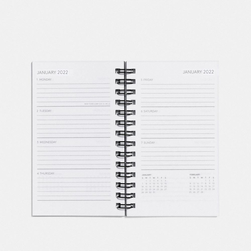 Coach 3x5 Spiral Diary Book Refill Alternate View 1