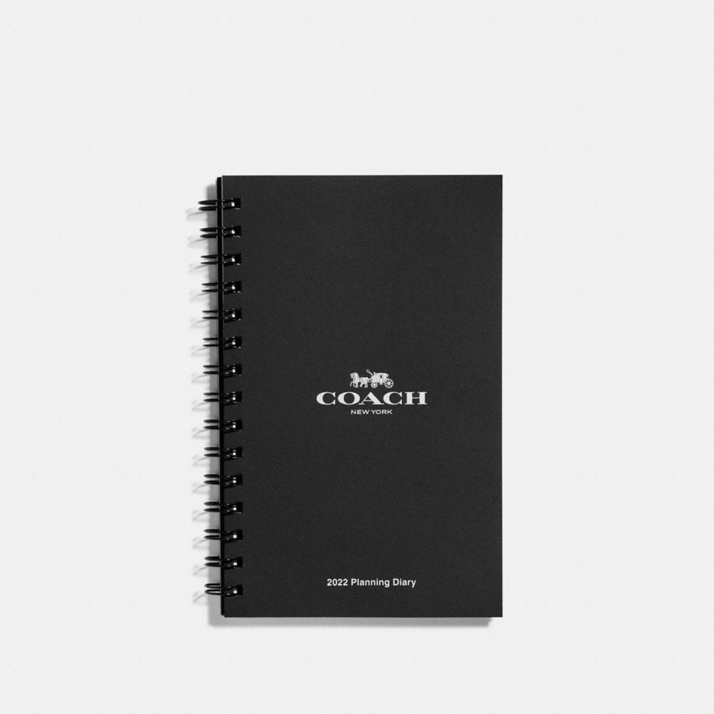 Coach 6X8 Spiral Diary Book Refill - Women'S, White