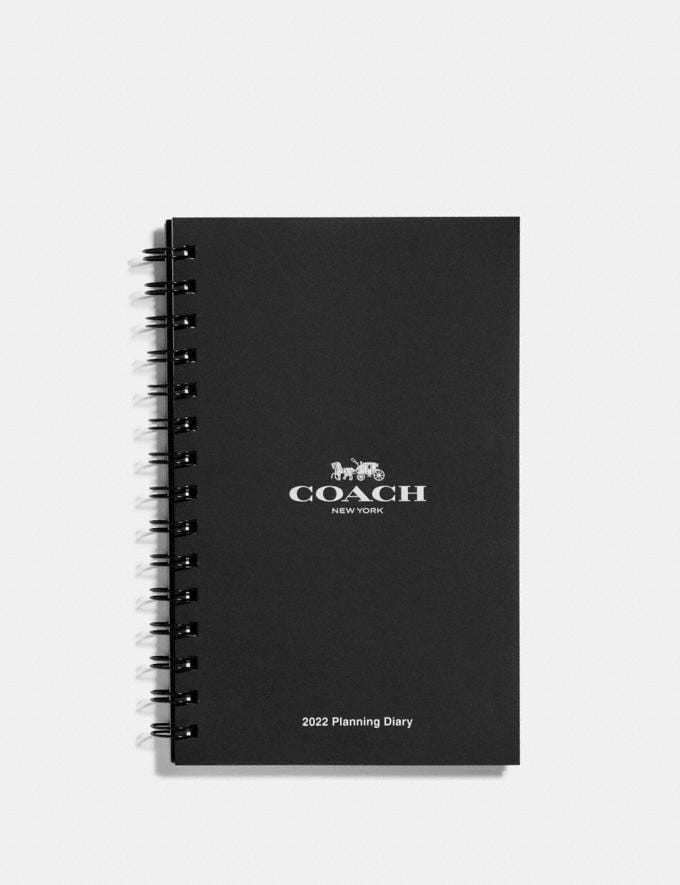Coach 6x8 Spiral Diary Book Refill White Women Accessories Tech & Work
