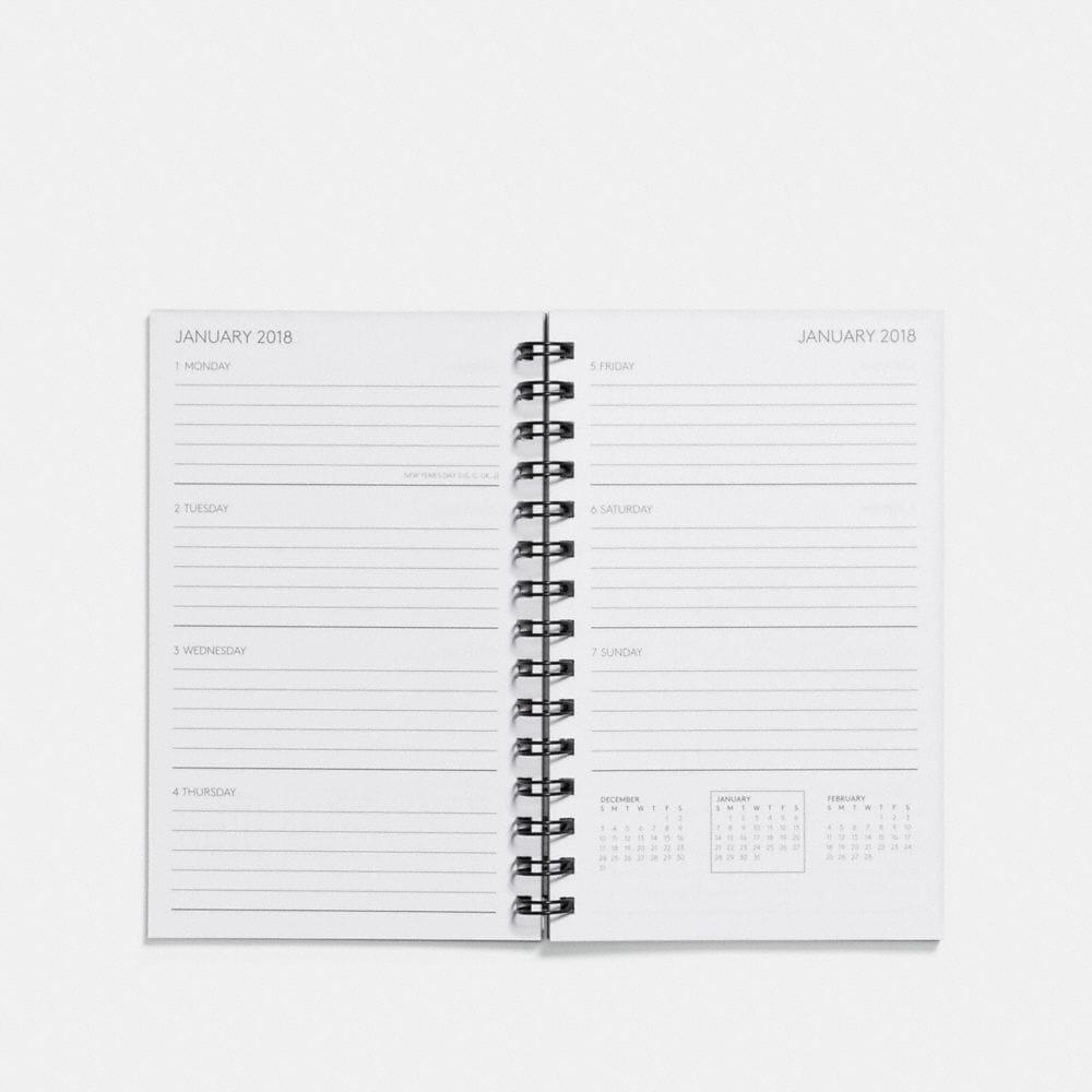 Coach 6x8 Spiral Diary Book Refill Alternate View 1