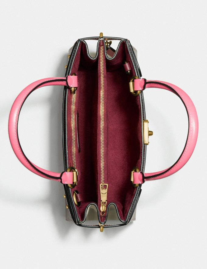 Coach Hutton Carryall in Colorblock Brass/Wine Multi Gifts For Her Under $500 Alternate View 2