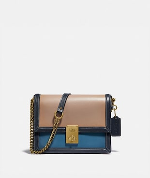 HUTTON SHOULDER BAG IN COLORBLOCK
